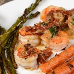 Shrimp with Basil-Garlic Butter