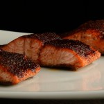 Chili-Maple Glazed Salmon