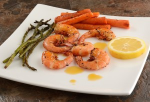 Garlic Rosemary Pepper Shrimp