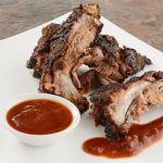 Smoky Barbecued Pork Ribs with Sauce