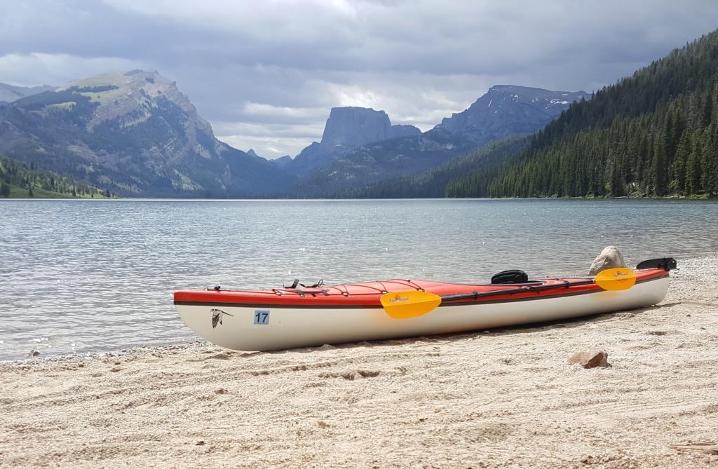 Kayak on Green River Lake